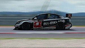 RaceRoom: WTCC14 at Slovakia Ring: Full Race