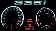 BMW 335i - 314 Km/h Acceleration Onboard Autobahn Performance Exhaust Sound E92 Beschleunigung 0-