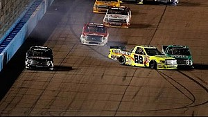 NASCAR crashes and spins at Phoenix