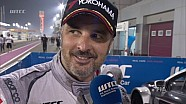 Yvan Muller wins race 2 in Qatar