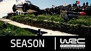 ملخص أهم أحداث موسم 2015 من بطولة العالم للراليات
