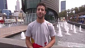 Perth Speed Fest - Daniel Ricciardo interview