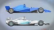Сравнение шасси Mercedes 2015 и 2017