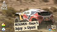 Resumen de la etapa 5 - Autos y Motos - (Jujuy / Uyuni)