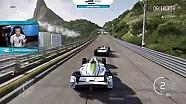 职业车手对阵游戏高手 电动方程式官方游戏挑战