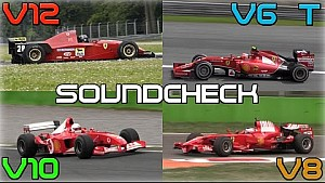 Звук Ferrari V12 , V10, V8 і V6 1995-2014