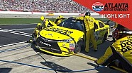 Kenseth penalized for improper fueling