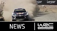 WRC Rally Guanajuato México 2016: Stages 11-13