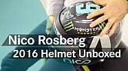 Unboxing F1: Nico Rosberg's new 2016 helmet