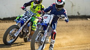 Flat Track with Chad Reed and Jorge Lorenzo