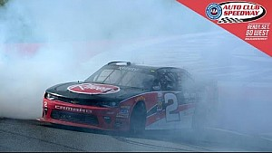 Austin Dillon pulls away with surprise win