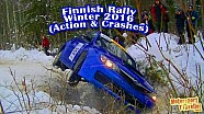 Finnish Rally Winter 2016 (Action & Crashes)