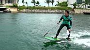 Nelson Piquet hace Jet Surf en Cancún