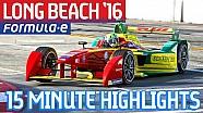 Extended Highlights: Long Beach ePrix 2016 - Formula E