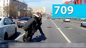 Car Crash Compilation # 709 - April 2016 (English Subtitles)
