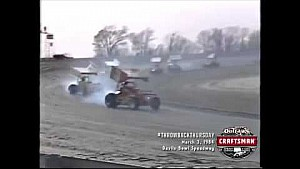 #ThrowbackThursday: World of Outlaws Craftsman Sprint Cars Devils Bowl Speedway March 3rd, 1984