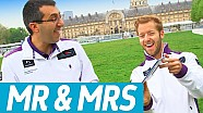 Mr & Mrs: w/ Sam Bird vs His Race Engineer! - Formula E