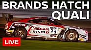 LIVE - Blancpain Sprint Series - Brands Hatch 2016 - Qualifying