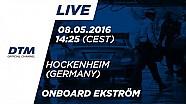 LIVE Onboard (Race 2) - Mattias Ekström (Audi RS5 DTM) - DTM Hockenheim 2016