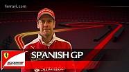 The Spanish GP with Sebastian Vettel - Scuderia Ferrari 2016