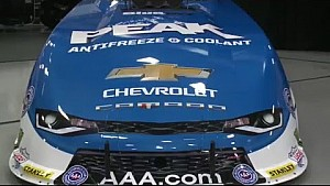 John Force unveils brand NEW Chevrolet Funny Car body #NHRA
