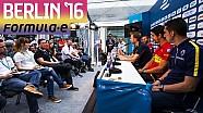 ePrix di Berlino: la conferenza stampa