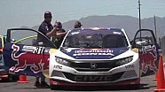 HPD Trackside -- Honda Civic Red Bull Global Rallycross Launch