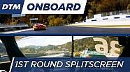1st Round Onboard: Glock & Martin - DTM Spielberg 2016