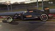 倍耐力2017年F1轮胎-更大更好