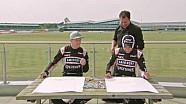 Hulkenberg y Perez dibujan el VJM09 de Force India