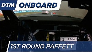1st Round Onboard: Paffett - DTM Lausitzring 2016