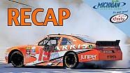 Resumen: Suárez hace historia en NASCAR en Michigan
