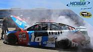 Engine troubles send Kyle Busch to the garage
