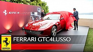 The Ferrari GTC4Lusso in Sydney