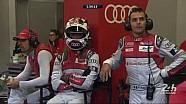 De cerca del Audi #7 en la clasificación de las 24 horas de Le Mans