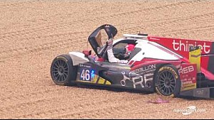 Le Mans 24h: Thiriet by TDS Racing #46 crash