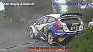 Donegal International Rally 2016 Alastair Fisher Crash