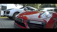 Cayenne Turbo S vs 911 Turbo S on the Goodwood Hillclimb