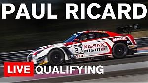 LIVE: Blancpain Endurance 2016 - Paul Ricard - Qualifying
