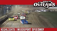 World of Outlaws Craftsman Late Models Weedsport Speedway June 21st, 2016 | HIGHLIGHTS