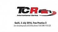 Вторая тренировка TCR в Сочи