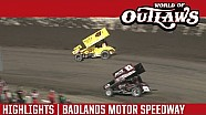 World of Outlaws Craftsman Sprint Cars Badlands Motor Speedway July 2nd, 2016 | HIGHLIGHTS