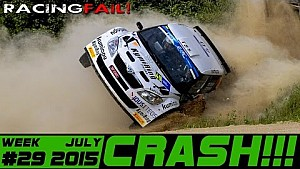 Racing and Rally Crash Compilation Week 29 July 2015