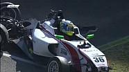 Massive Race 2 start crash in Italian F4 at Mugello