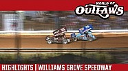 World of Outlaws Craftsman Sprint Cars Williams Grove Speedway July 23rd, 2016 | HIGHLIGHTS