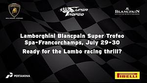 Lamborghini Super Trofeo Europe 2016, Spa - Video Teaser