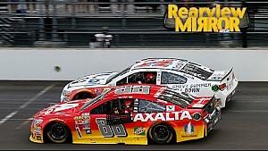 Stewart and Gordon take a lap while Busch sweeps