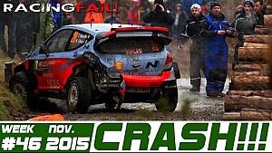Racing Rally Crash Compilation Week 46 November 2015