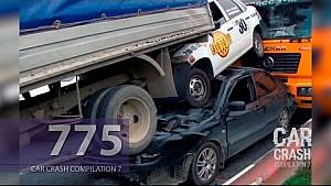 Car Crash Compilation # 775 - August 2016 (English Subtitles)
