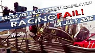 Racing and Rally Crash Compilation Week 31 July 2016